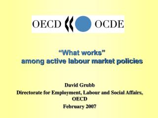 What works   among active labour market policies