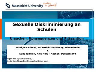 Sexuelle Diskriminierung an Schulen Ursachen, Konsequenzen und Prävention