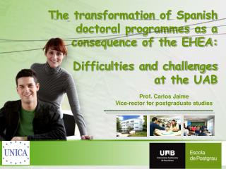 Prof. Carlos Jaime Vice-rector for postgraduate studies