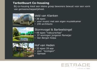Tarbotbuurt Co-housing