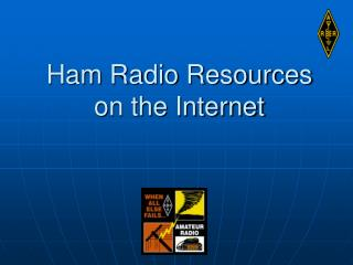 Ham Radio Resources on the Internet