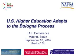 U.S. Higher Education Adapts to the Bologna Process
