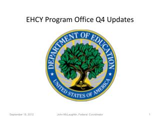 EHCY Program Office Q4 Updates