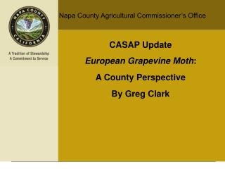 Napa County Agricultural Commissioner�s Office