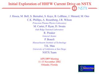 Initial Exploration of HHFW Current Drive on NSTX