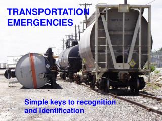 TRANSPORTATION EMERGENCIES