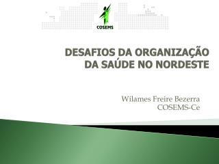 DESAFIOS DA ORGANIZAÇÃO  DA  SAÚDE NO NORDESTE