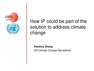 How IP could be part of the solution to address climate change
