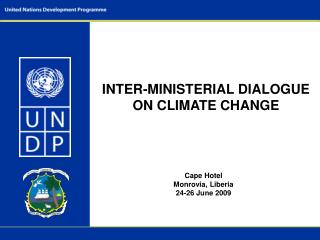 INTER-MINISTERIAL DIALOGUE ON CLIMATE CHANGE