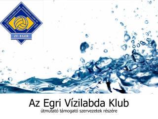 Az Egri Vízilabda Klub