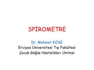 SPİROMETRE