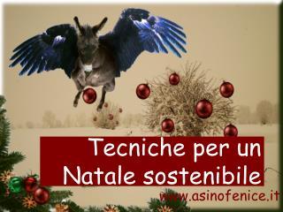 Tecniche per un Natale sostenibile