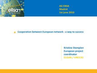AG ENSA   Madrid 1st june 2010