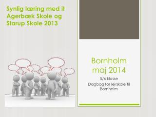 Bornholm maj 2014