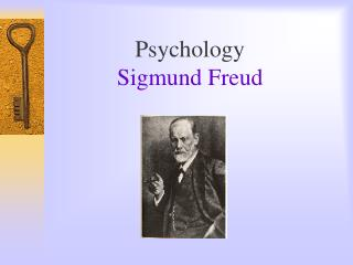 Psychology Sigmund Freud
