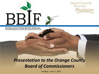 Presentation to the Orange County Board of Commissioners