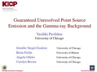 Guaranteed Unresolved Point Source Emission and the Gamma-ray Background