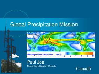 Global Precipitation Mission