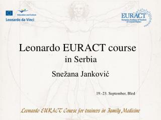 Snežana Janković 19.-23. September, Bled