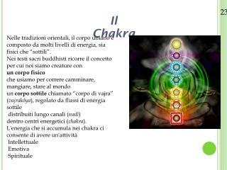 Il Chakra