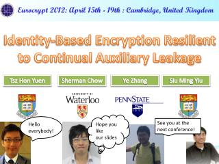 Identity-Based Encryption Resilient to Continual Auxiliary Leakage