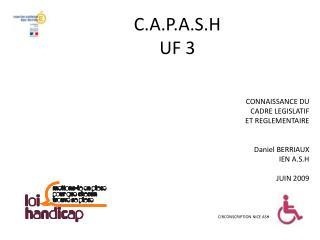 C.A.P.A.S.H UF 3