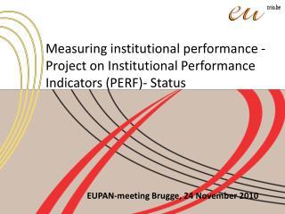 EUPAN-meeting Brugge, 24 November 2010