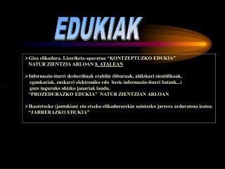EDUKIAK