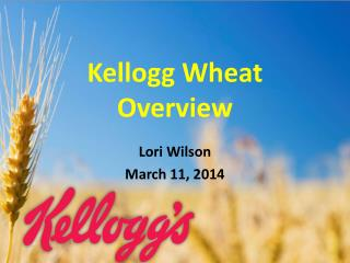 Kellogg Wheat  Overview