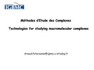 Technologies for studying macromolecular complexes