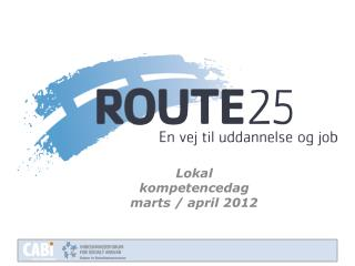 Lokal kompetencedag m arts / april 2012