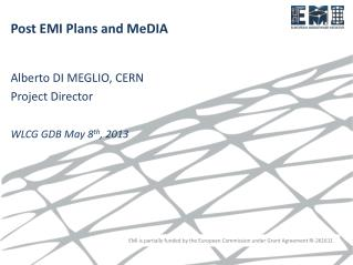 Post EMI Plans and MeDIA