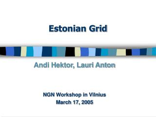 Estonian Grid