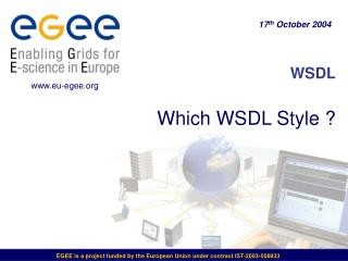 WSDL Which WSDL Style ?