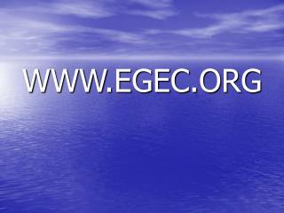 WWW.EGEC.ORG