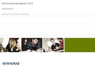 Elevtrivselsundersøgelsen 2013