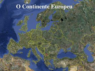 O Continente Europeu