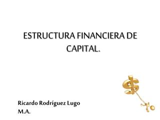 ESTRUCTURA FINANCIERA DE CAPITAL.
