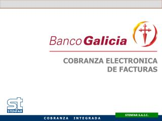 COBRANZA ELECTRONICA DE FACTURAS