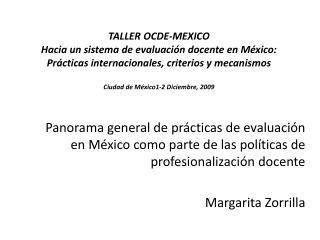 Políticas de Docentes Mexico – Educación Básica