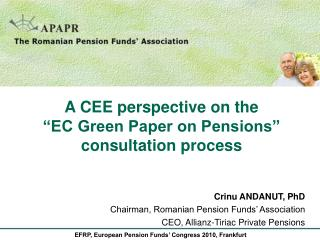 EFRP, European Pension Funds' Congress 2010, Frankfurt
