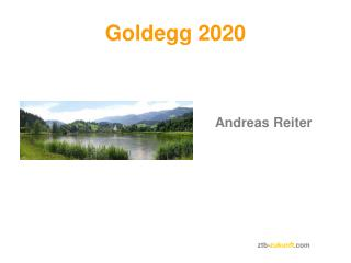 Goldegg 2020
