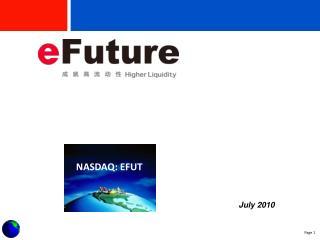 NASDAQ: EFUT