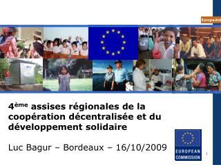 L'assistance externe communautaire (1)