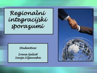 Regionalni integracijski sporazumi