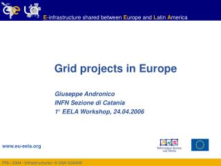 Grid projects in Europe