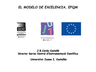 EL MODELO DE EXCELENCIA, EFQM