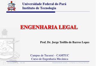 Universidade Federal do Par� Instituto de Tecnologia