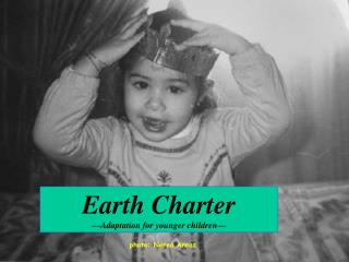 Earth Charter  Adaptation for younger children