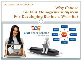 Why choose CMS for developing business website?